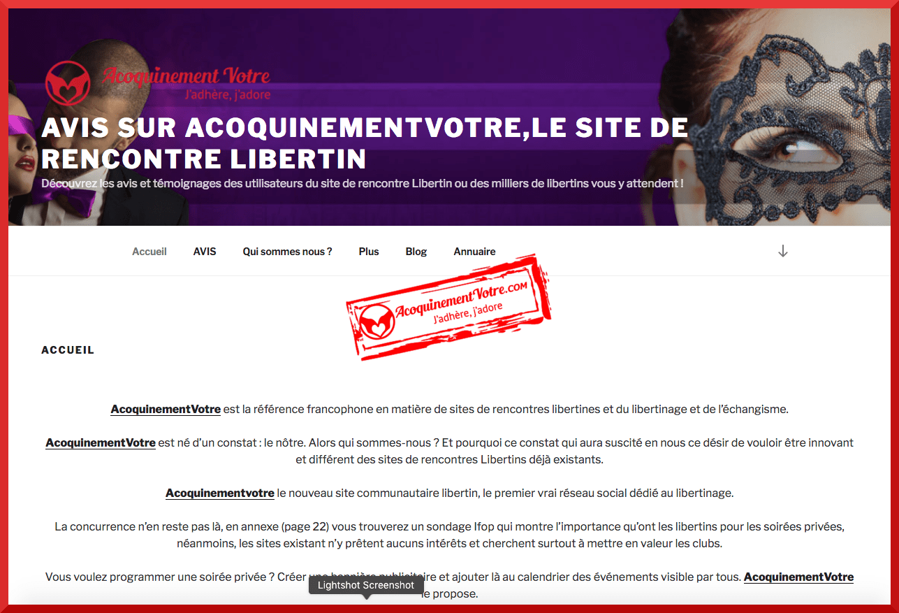 site de rencontre libertines liste des sites de rencontres